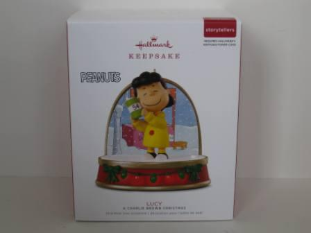 A Charlie Brown Christmas Lucy Christmas Ornament (NEW)
